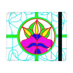 Pattern Template Stained Glass Samsung Galaxy Tab Pro 8.4  Flip Case