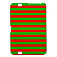 Pattern Lines Red Green Kindle Fire HD 8.9
