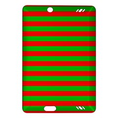 Pattern Lines Red Green Amazon Kindle Fire HD (2013) Hardshell Case
