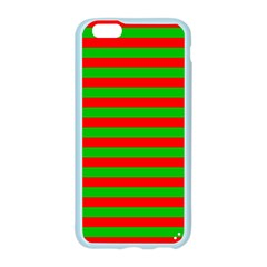 Pattern Lines Red Green Apple Seamless iPhone 6/6S Case (Color)