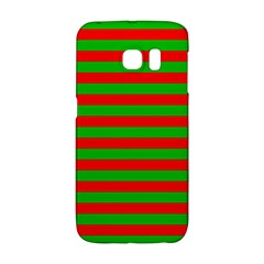 Pattern Lines Red Green Galaxy S6 Edge