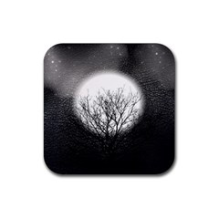 Starry Sky Rubber Square Coaster (4 pack)