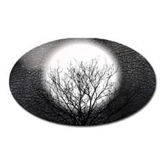 Starry Sky Oval Magnet