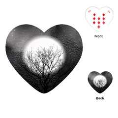 Starry Sky Playing Cards (heart)