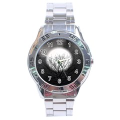 Starry Sky Stainless Steel Analogue Watch