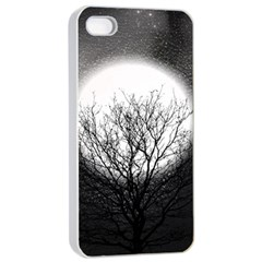Starry Sky Apple iPhone 4/4s Seamless Case (White)
