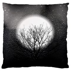 Starry Sky Large Cushion Case (one Side)