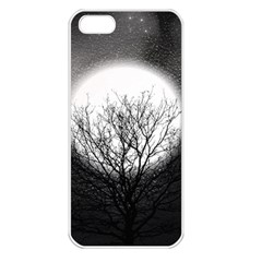 Starry Sky Apple iPhone 5 Seamless Case (White)