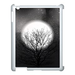 Starry Sky Apple iPad 3/4 Case (White)