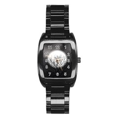 Starry Sky Stainless Steel Barrel Watch