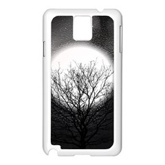Starry Sky Samsung Galaxy Note 3 N9005 Case (White)