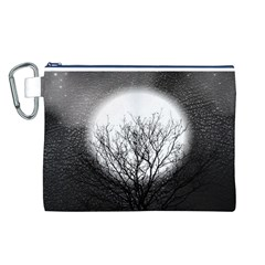 Starry Sky Canvas Cosmetic Bag (L)