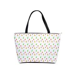 Fruit Pattern Vector Background Shoulder Handbags