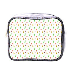 Fruit Pattern Vector Background Mini Toiletries Bags