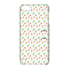 Fruit Pattern Vector Background Apple iPod Touch 5 Hardshell Case with Stand