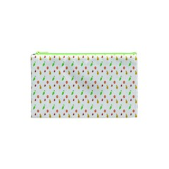 Fruit Pattern Vector Background Cosmetic Bag (XS)
