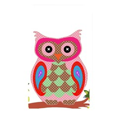 Owl Colorful Patchwork Art Memory Card Reader