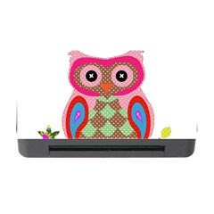 Owl Colorful Patchwork Art Memory Card Reader with CF