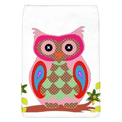 Owl Colorful Patchwork Art Flap Covers (S)