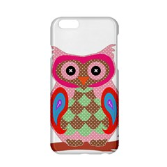 Owl Colorful Patchwork Art Apple iPhone 6/6S Hardshell Case