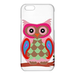 Owl Colorful Patchwork Art iPhone 6/6S TPU Case