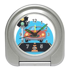 Semaphore Car Road City Traffic Travel Alarm Clocks