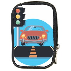 Semaphore Car Road City Traffic Compact Camera Cases