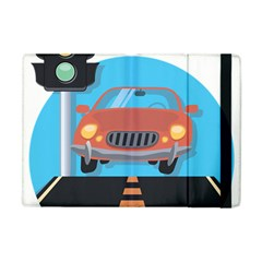 Semaphore Car Road City Traffic Apple iPad Mini Flip Case