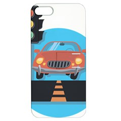 Semaphore Car Road City Traffic Apple iPhone 5 Hardshell Case with Stand