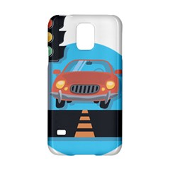 Semaphore Car Road City Traffic Samsung Galaxy S5 Hardshell Case