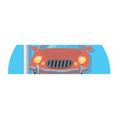 Semaphore Car Road City Traffic Satin Scarf (Oblong)