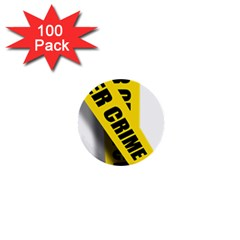 Internet Crime Cyber Criminal 1  Mini Buttons (100 pack)