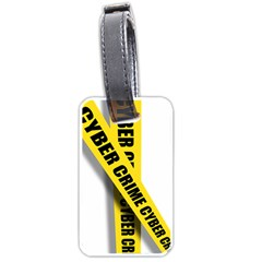 Internet Crime Cyber Criminal Luggage Tags (Two Sides)