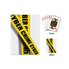 Internet Crime Cyber Criminal Playing Cards (Mini)