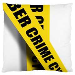 Internet Crime Cyber Criminal Large Cushion Case (Two Sides)