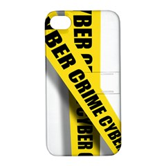 Internet Crime Cyber Criminal Apple iPhone 4/4S Hardshell Case with Stand