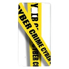 Internet Crime Cyber Criminal Galaxy Note 4 Back Case