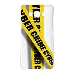 Internet Crime Cyber Criminal Samsung Galaxy A5 Hardshell Case