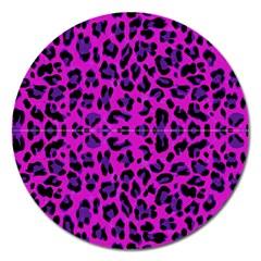 Pattern Design Textile Magnet 5  (Round)
