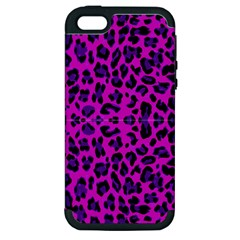 Pattern Design Textile Apple iPhone 5 Hardshell Case (PC+Silicone)