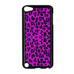 Pattern Design Textile Apple iPod Touch 5 Case (Black)