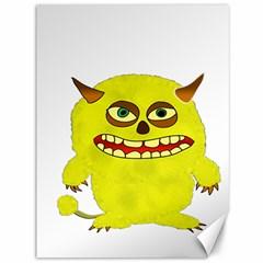 Monster Troll Halloween Shudder Canvas 36  x 48