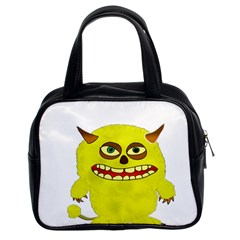 Monster Troll Halloween Shudder Classic Handbags (2 Sides)