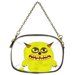 Monster Troll Halloween Shudder Chain Purses (Two Sides)