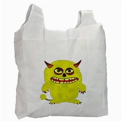 Monster Troll Halloween Shudder Recycle Bag (Two Side)