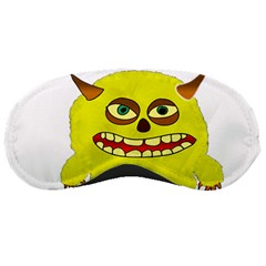 Monster Troll Halloween Shudder Sleeping Masks