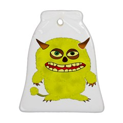 Monster Troll Halloween Shudder Ornament (Bell)
