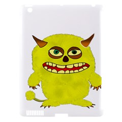Monster Troll Halloween Shudder Apple iPad 3/4 Hardshell Case (Compatible with Smart Cover)