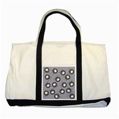 Rocket Ship Wallpaper Background Two Tone Tote Bag