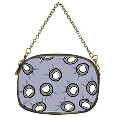 Rocket Ship Wallpaper Background Chain Purses (One Side)